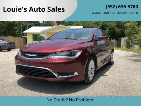 2015 Chrysler 200 for sale at Louie's Auto Sales in Leesburg FL