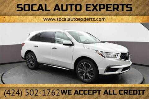 2020 Acura MDX for sale at SoCal Auto Experts in Culver City CA