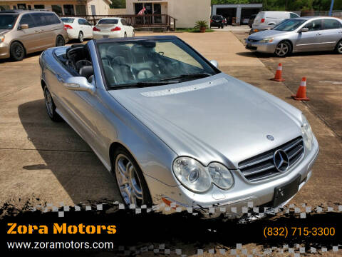 2009 Mercedes-Benz CLK for sale at Zora Motors in Houston TX