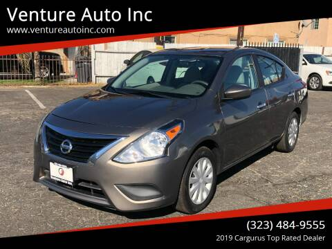 2015 Nissan Versa for sale at Venture Auto Inc in South Gate CA