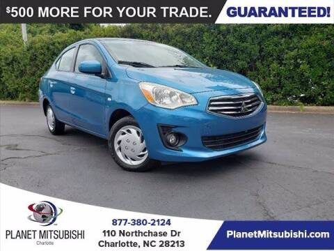 2018 Mitsubishi Mirage G4 for sale at Planet Automotive Group in Charlotte NC
