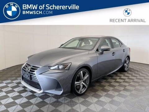 2017 Lexus IS 300 for sale at BMW of Schererville in Shererville IN