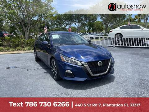 2021 Nissan Altima for sale at AUTOSHOW SALES & SERVICE in Plantation FL