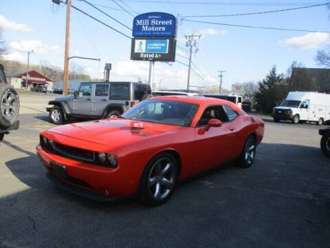 2013 Dodge Challenger for sale at Mill Street Motors in Worcester MA