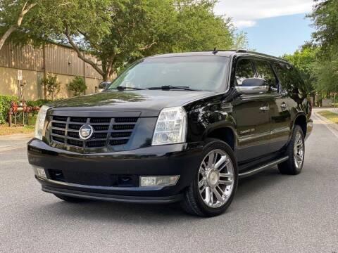 2009 Cadillac Escalade ESV for sale at Presidents Cars LLC in Orlando FL