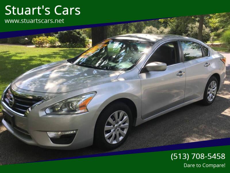 2014 Nissan Altima for sale at Stuart's Cars in Cincinnati OH