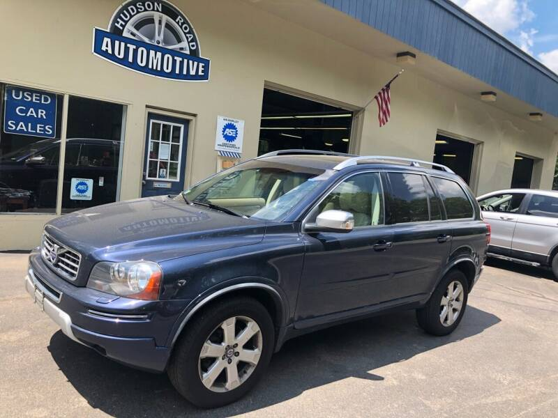 2013 Volvo XC90 for sale at HUDSON ROAD AUTOMOTIVE in Stow MA