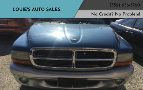 2003 Dodge Durango for sale at Louie's Auto Sales in Leesburg FL
