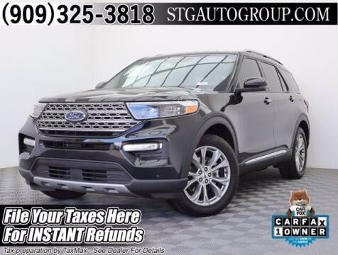 2020 Ford Explorer for sale at STG Auto Group in Montclair CA
