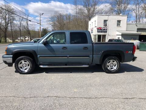 2006 Chevrolet Silverado 1500 for sale at DND AUTO GROUP in Belvidere NJ