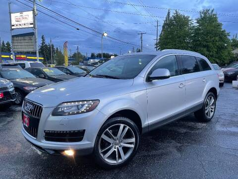2012 Audi Q7 for sale at Real Deal Cars in Everett WA