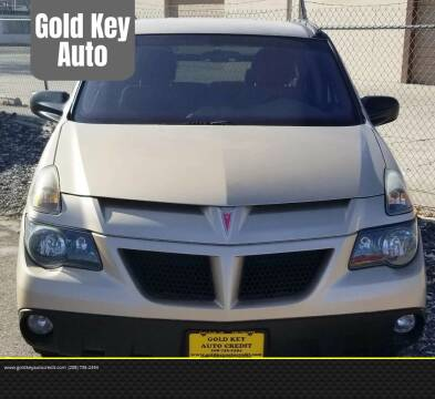 2004 Pontiac Aztek for sale at G.K.A.C. Car Lot in Twin Falls ID