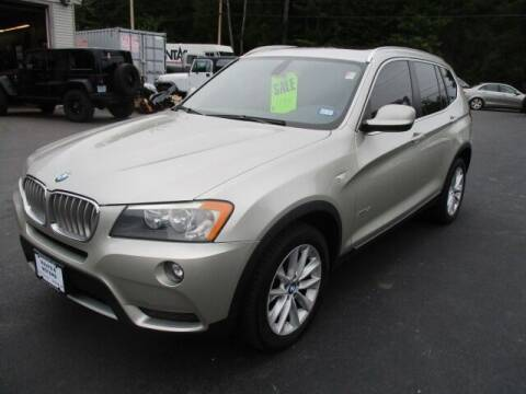2011 BMW X3 for sale at Route 4 Motors INC in Epsom NH