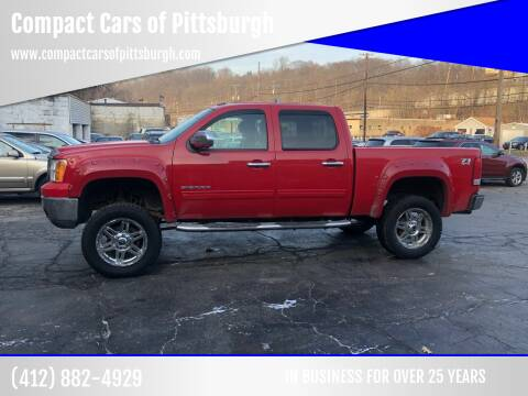 2011 GMC Sierra 1500 for sale at Compact Cars of Pittsburgh in Pittsburgh PA