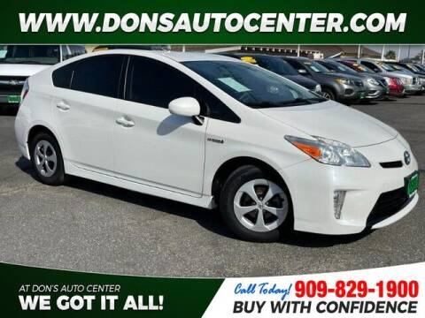 2013 Toyota Prius for sale at Dons Auto Center in Fontana CA