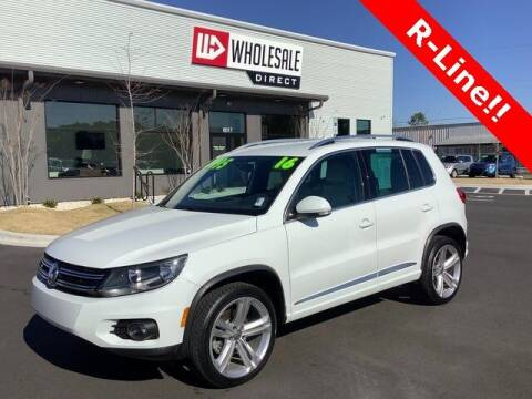 2016 Volkswagen Tiguan for sale at Wholesale Direct in Wilmington NC