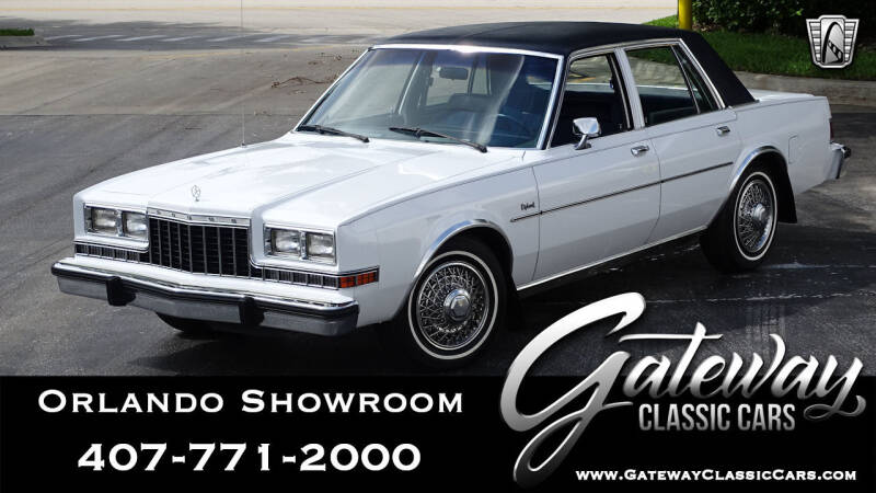 1984 Dodge Diplomat for sale in Lake Mary, FL
