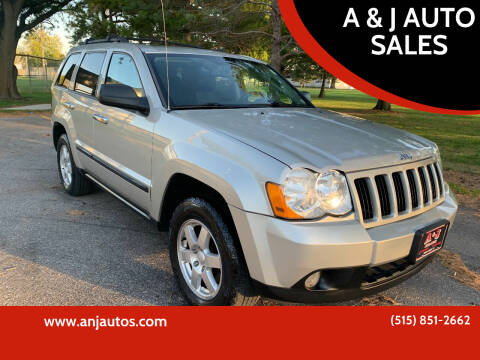 2009 Jeep Grand Cherokee for sale at A & J AUTO SALES in Eagle Grove IA