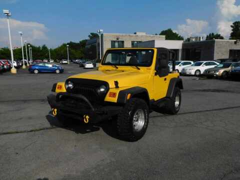 2000 Jeep Wrangler for sale at Paniagua Auto Mall in Dalton GA
