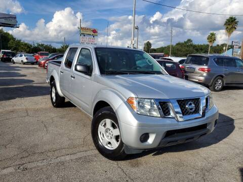 2012 Nissan Frontier for sale at Mars auto trade llc in Kissimmee FL