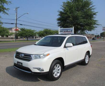 2013 Toyota Highlander for sale at Kendall's Used Cars 2 in Murray KY