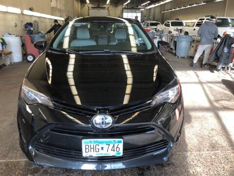 2017 Toyota Corolla for sale at LUXURY IMPORTS AUTO SALES INC in North Branch MN