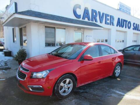 2015 Chevrolet Cruze for sale at Carver Auto Sales in Saint Paul MN