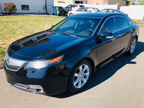 2014 Acura TL for sale at Kensington Family Auto in Kensington CT