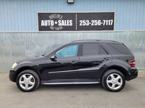 2007 Mercedes-Benz M-Class for sale at Austin's Auto Sales in Edgewood WA