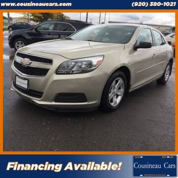 2013 Chevrolet Malibu for sale at CousineauCars.com in Appleton WI