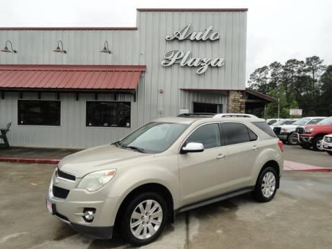 2011 Chevrolet Equinox for sale at Grantz Auto Plaza LLC in Lumberton TX