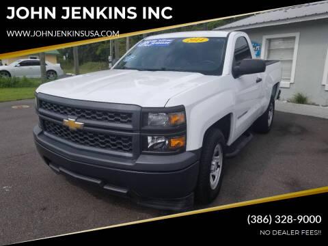 2014 Chevrolet Silverado 1500 for sale at JOHN JENKINS INC in Palatka FL