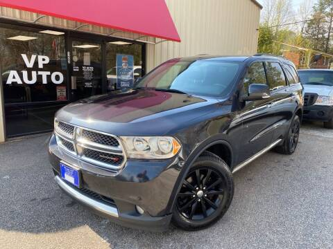 2013 Dodge Durango for sale at VP Auto in Greenville SC