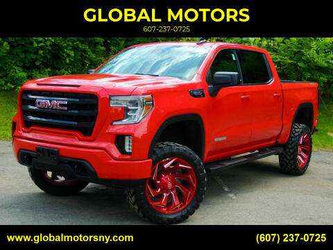 2020 GMC Sierra 1500 for sale at GLOBAL MOTORS in Binghamton NY