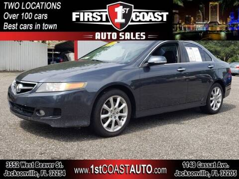 2007 Acura TSX for sale at 1st Coast Auto -Cassat Avenue in Jacksonville FL