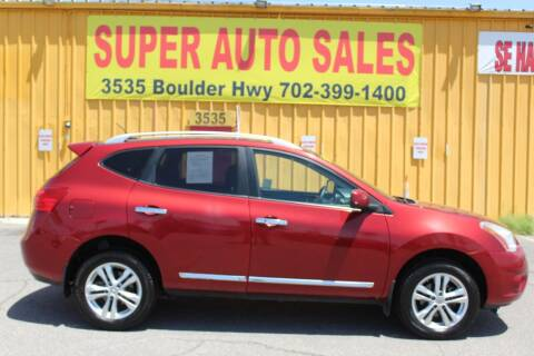2013 Nissan Rogue for sale at Super Auto Sales in Las Vegas NV