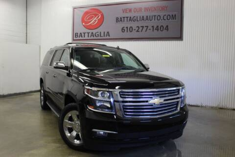2015 Chevrolet Suburban for sale at Battaglia Auto Sales in Plymouth Meeting PA