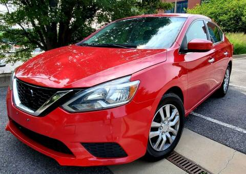 2017 Nissan Sentra for sale at Auto Wholesalers Of Rockville in Rockville MD