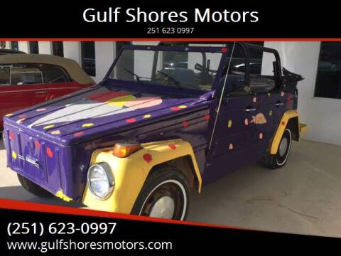 1973 Volkswagen Thing for sale at Gulf Shores Motors in Gulf Shores AL