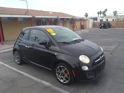 2012 FIAT 500 for sale at Car Spot in Las Vegas NV