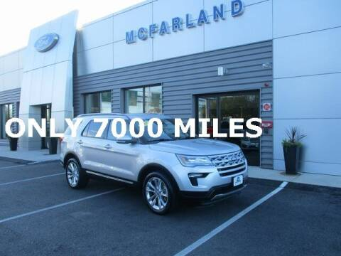2019 Ford Explorer for sale at MC FARLAND FORD in Exeter NH