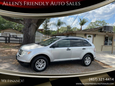 2010 Ford Edge for sale at Allen's Friendly Auto Sales in Sanford FL