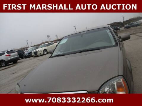 2002 Cadillac DeVille for sale at First Marshall Auto Auction in Harvey IL