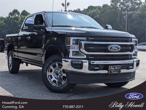 2021 Ford F-250 Super Duty for sale at BILLY HOWELL FORD LINCOLN in Cumming GA