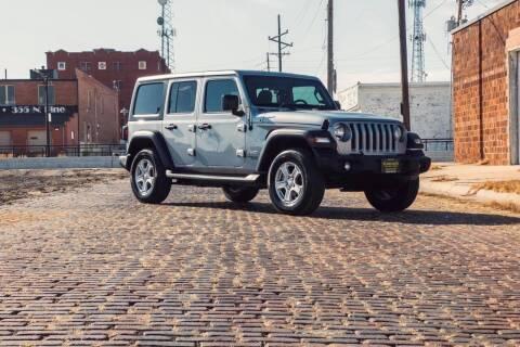 2020 Jeep Wrangler Unlimited for sale at Island Auto Off-Road & Sport in Grand Island NE