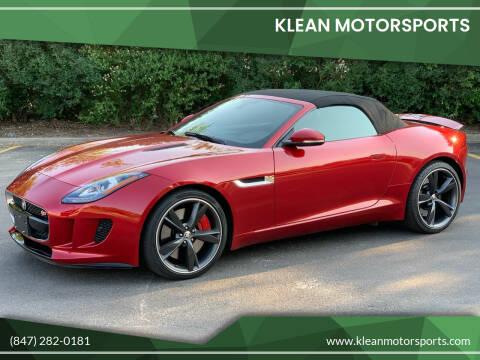 2014 Jaguar F-TYPE for sale at Klean Motorsports in Skokie IL
