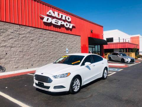 2016 Ford Fusion for sale at Auto Depot - Smyrna in Smyrna TN
