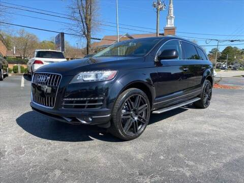 2015 Audi Q7 for sale at iDeal Auto in Raleigh NC