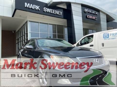 2007 Lexus LS 460 for sale at Mark Sweeney Buick GMC in Cincinnati OH
