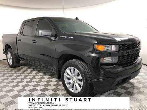 2019 Chevrolet Silverado 1500 for sale at Infiniti Stuart in Stuart FL